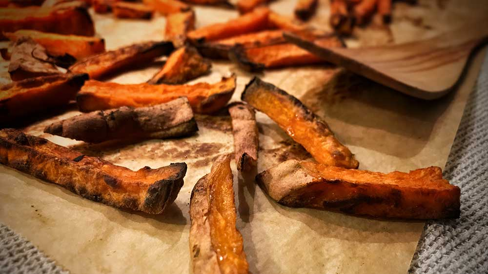 Oh, sweet, sweet potato fries!