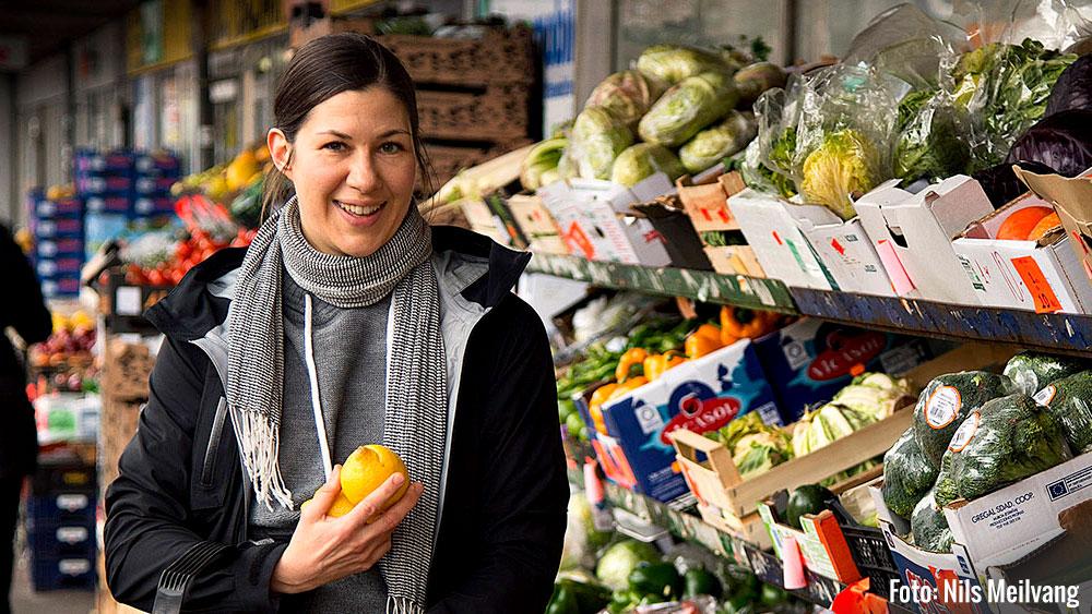 Line Hviid: Blogger og sundhedsnørd. Foto: Nils Meilvang