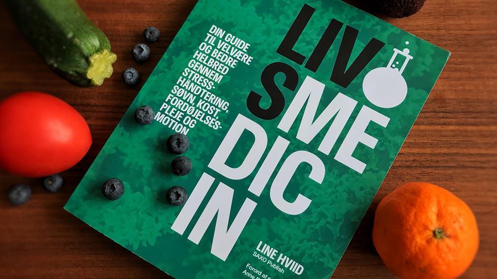 Bogen 'Livsmedicin' hjælper dig til mere velvære og bedre helbred gennem kost og livsstil