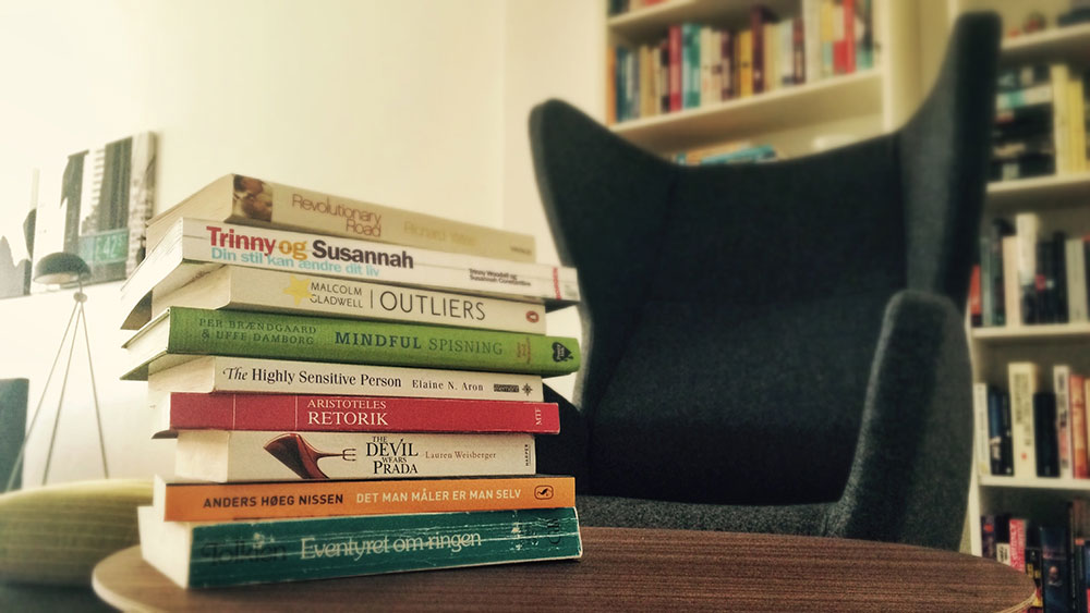 Hvis jeg bare havde tid til at læse flere bøger